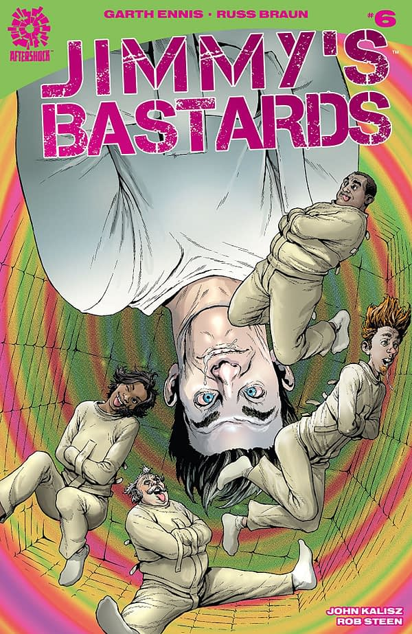 Jimmy's Bastards #6 cover by Andy Clarke and Jose Villarruba