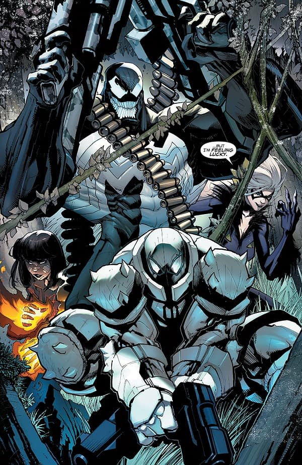 Venom #160 art by Gerardo Sandoval and Dave Curiel