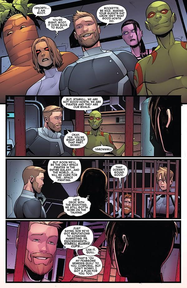 Captain Marvel #128 art by Michele Bandini and Erick Arciniega