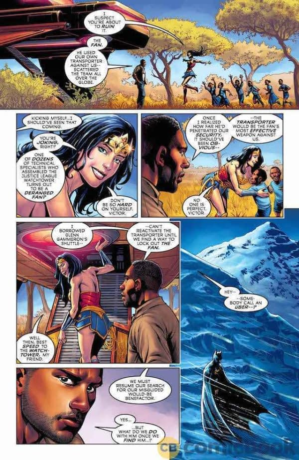 Justice League #38 art by Marco Santucci and Alex Sollazzo
