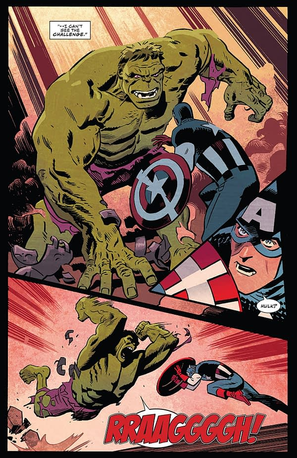 Captain America #699 art by Chris Samnee and Matthew Wilson