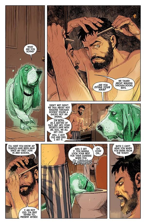 Doctor Strange #386 art by Niko Henrichon with Laurent Grossat
