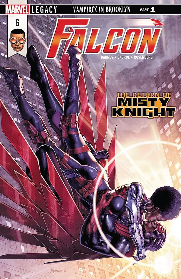 Falcon #6 cover by Jay Anacleto