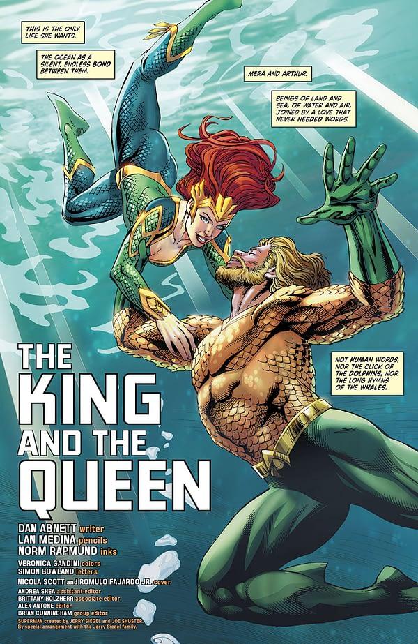 Mera: Queen of Atlantis #2 art by Lan Medina, Norm Rapmund, and Veronica Gandini