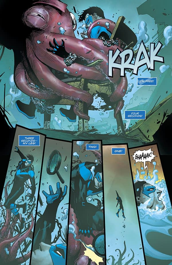 Nightwing #40 art by Bernard Chang and Marcelo Maiolo