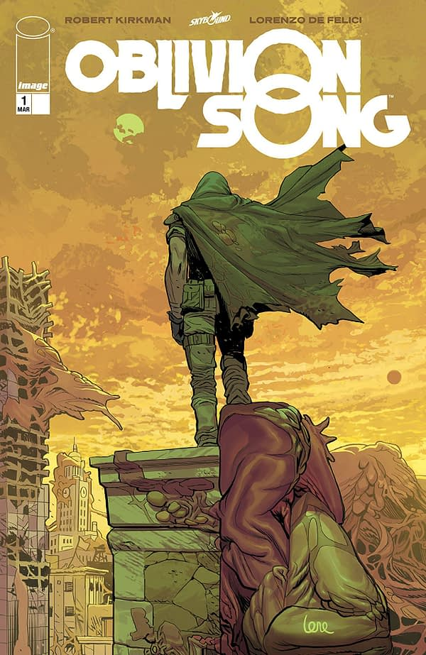 Oblivion Song #1 cover by Lorenzo de Felici