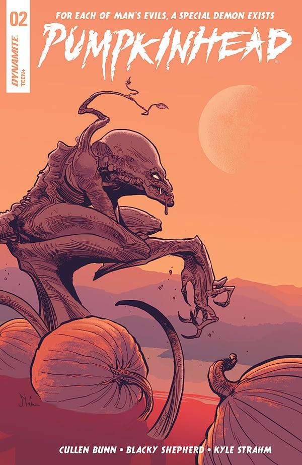 Pumpkinhead #2 Cover by Blacky Shepherd