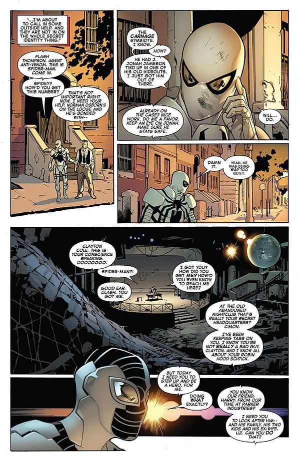 Amazing Spider-Man #799 art by Stuart Immonen, Wade von Grawbadger, and Marte Gracia