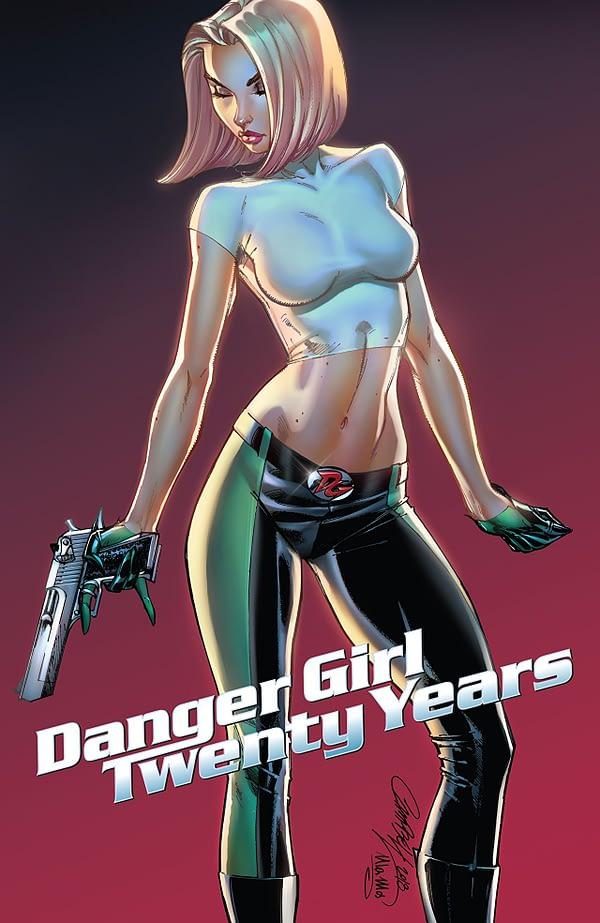 J. Scott Campbell's Danger Girl: 20th Anniversary Cover