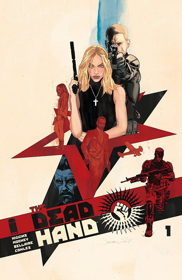 The Dead Hand #1 cover by Stephen Mooney and Jordie Bellaire