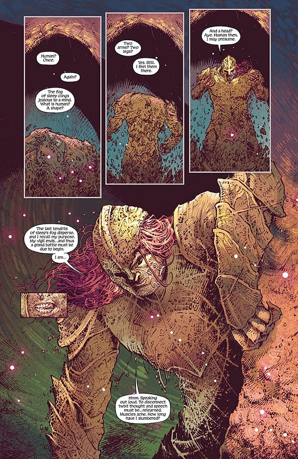 Deep Roots #1 art by Val Rodrigues and Triona Farrell