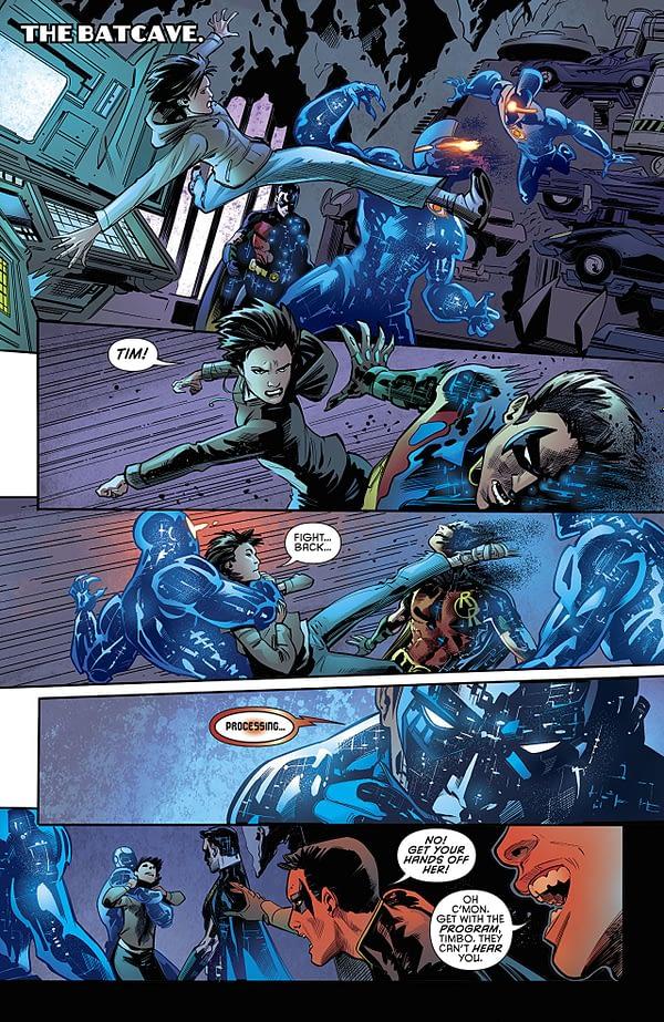 Batman: Detective Comics #979 art by Philippe Briones and John Kalisz