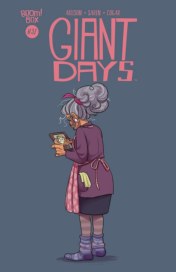Giant Days #37 cover by Max Sarin