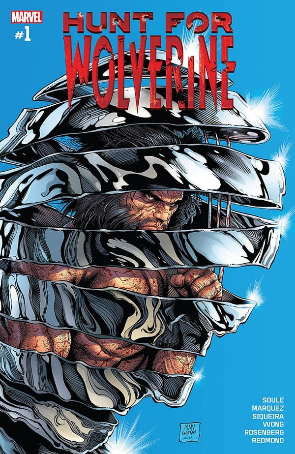 Hunt for Wolverine #1 cover by Steve McNiven