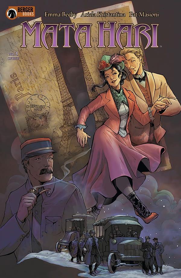 Mata Hari #3 cover by Ariela Kristantina