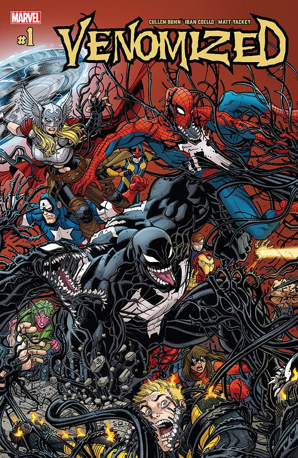 Venomized #1 cover by Nick Bradshaw