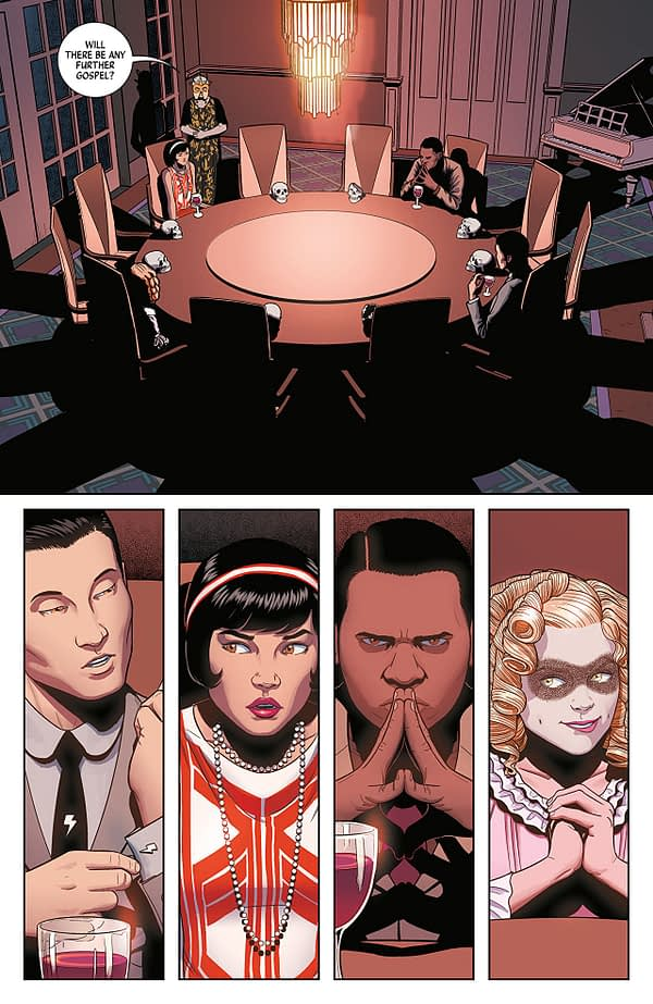 Wicked + Divine #35 art by Jamie McKelvie and Matthew Wilson