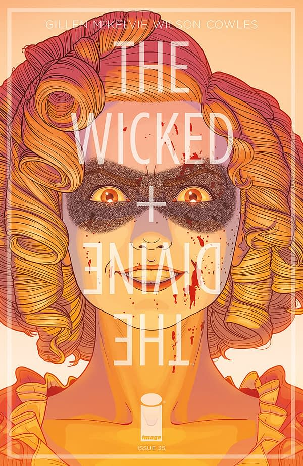 Wicked + Divine #35 cover by Jamie McKelvie and Matt Wilson