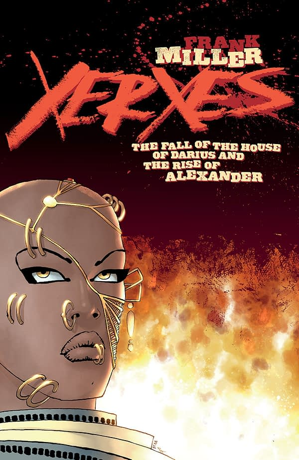 Xerxes : The Fall of the House of Darius and the Rise of Alexander #1 cover by Frank Miller