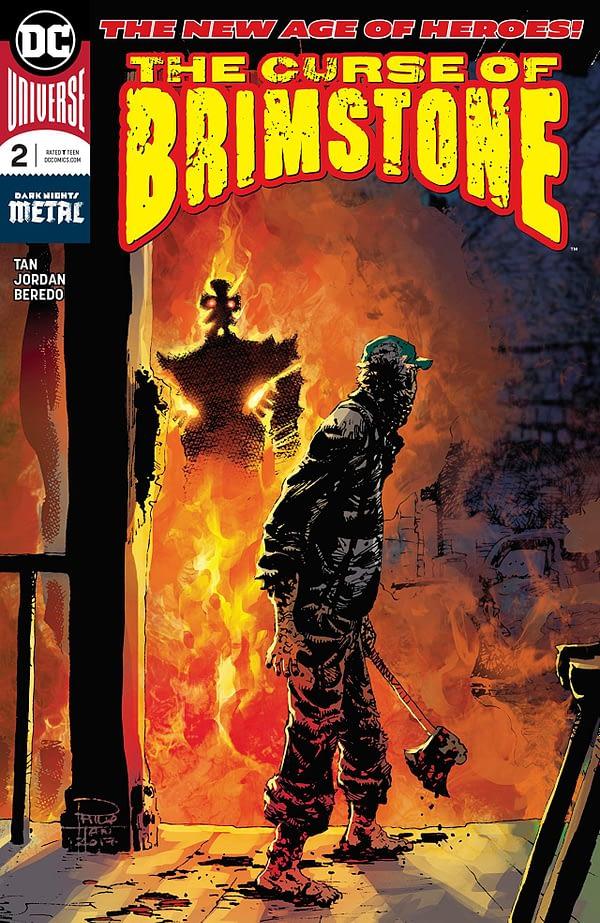 Curse of Brimstone #2 cover by Philip Tan and Rain Beredo