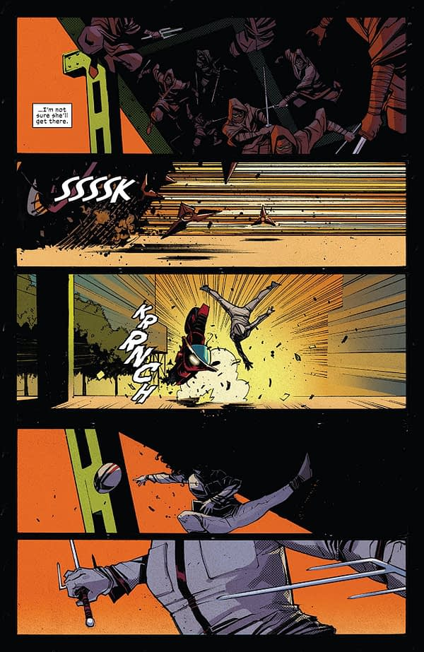Daredevil #603 art by Mike Henderson and Matt Milla