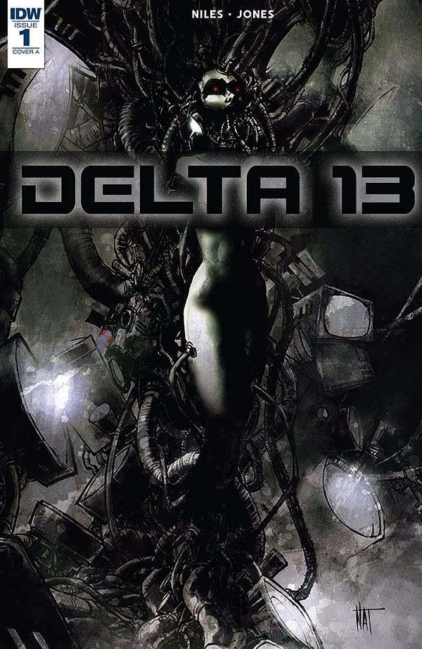 Delta 13 #1 cover by Nat Jones