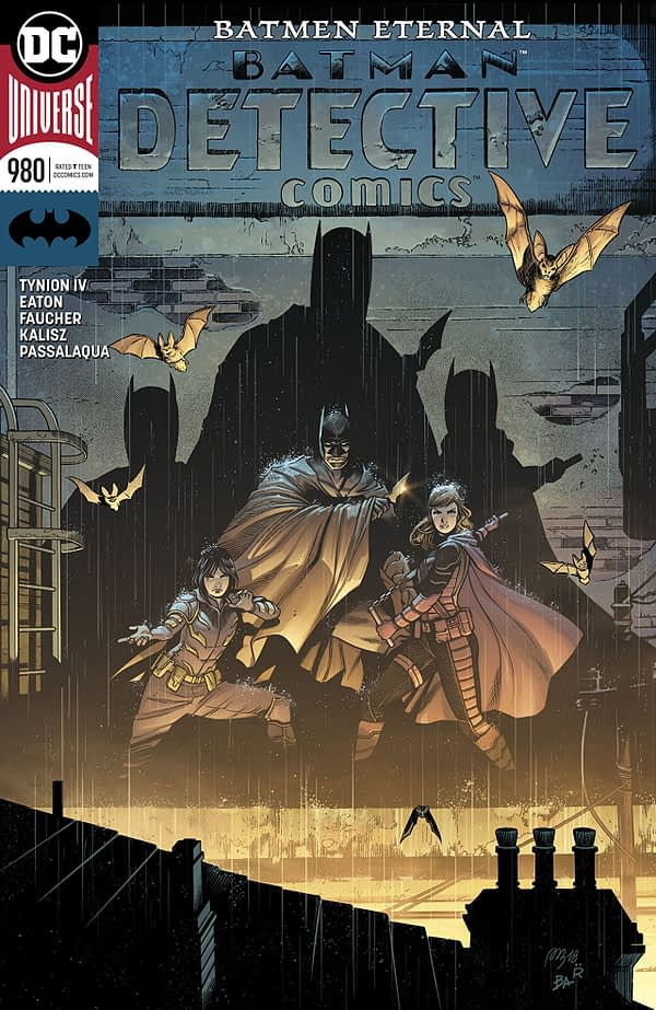 Batman: Detective Comics #980 cover by Raul Fernandez, Alvaro Martinez, and Brad Anderson