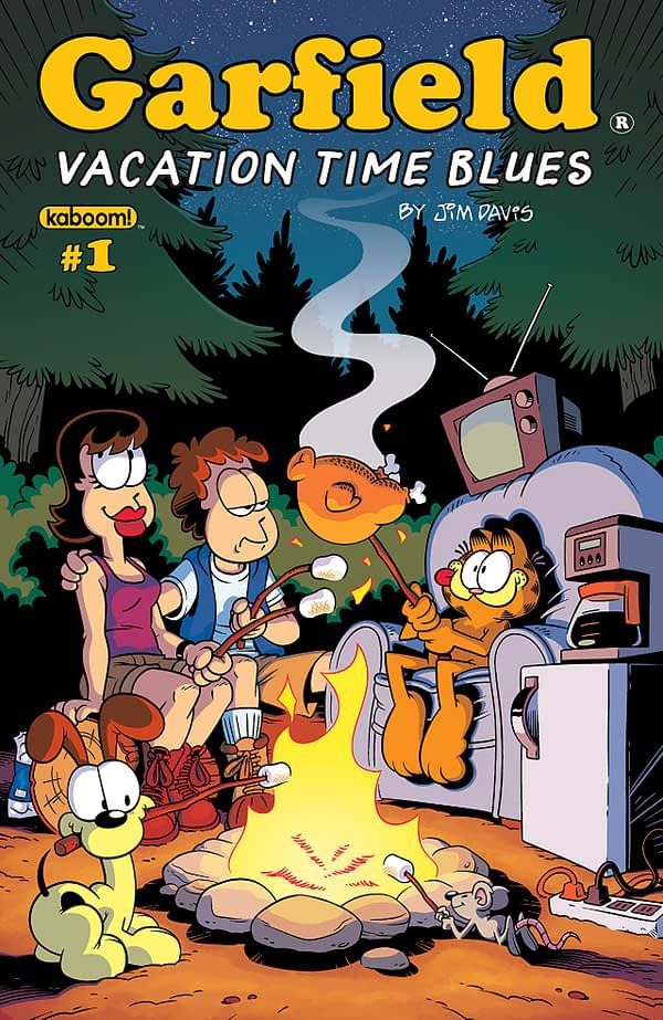 Garfield 2018 Vacation Time Blues cover by Andy Hirsch