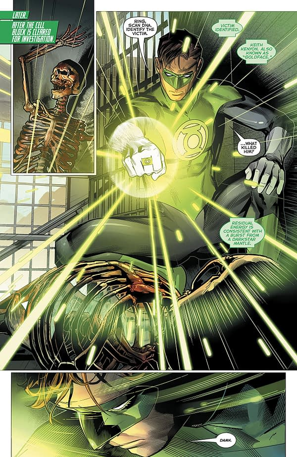 Hal Jordan and the Green Lantern Corps #44 art by Brandon Peterson and Ivan Plascencia