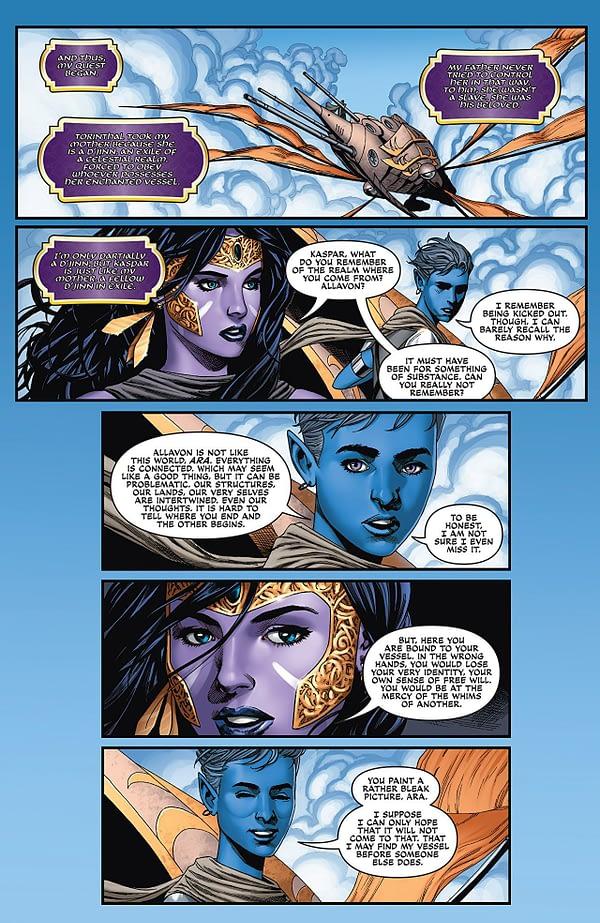 Jirni Vol. 3 #3 art by Michael Sta. Maria, Elias Pineda, Mauricio Campetella, and John Starr