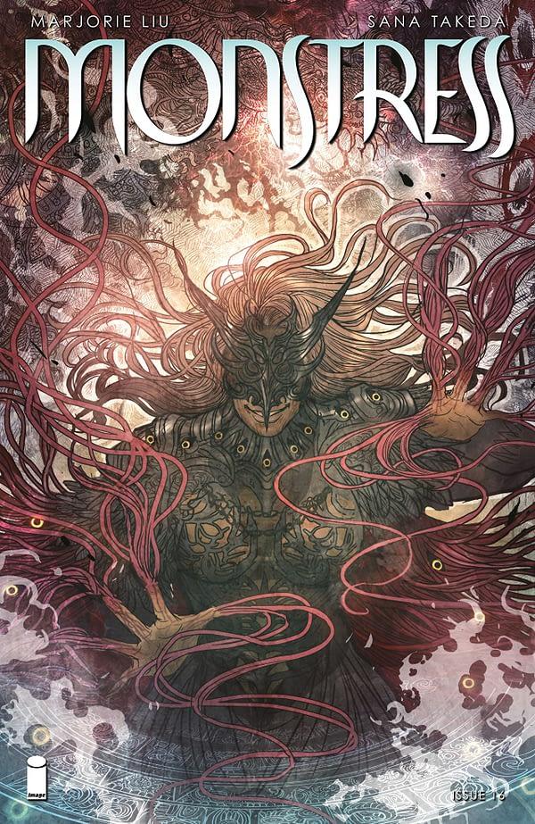 Monstress #16 cover by Sana Takeda