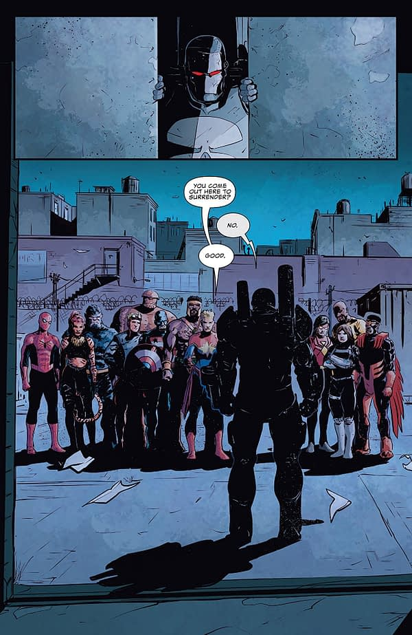 The Punisher #225 art by Guiu Vilanova and Lee Loughridge