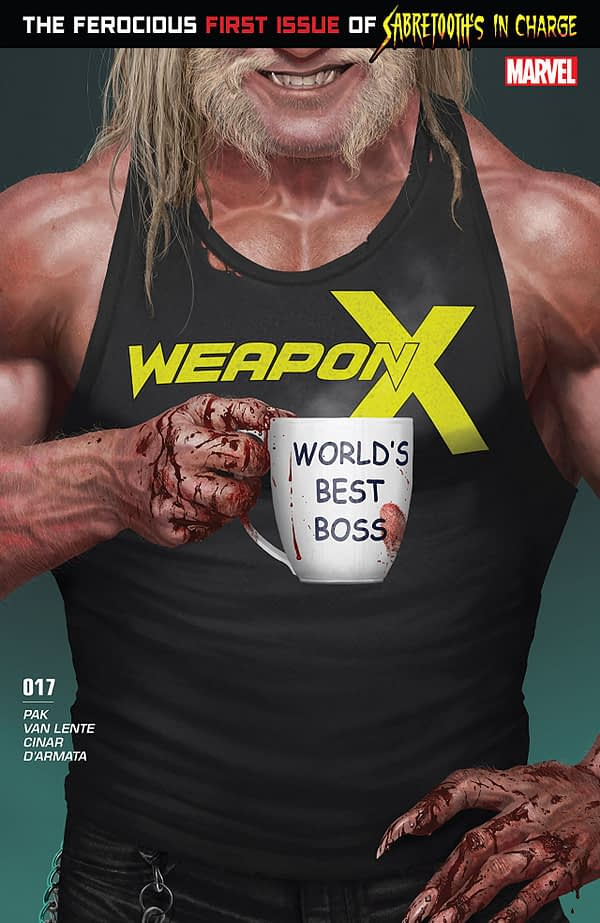 Weapon X #17 cover by Rahzzah