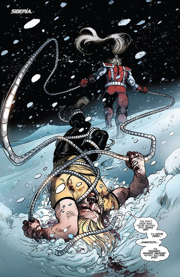 Weapon X #18 art by Yildiray Cinar and Frank D'Armata