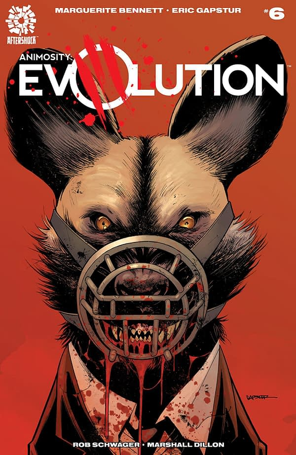 Animosity: Evolution #6 cover by Eric Gapstur and Guy Major
