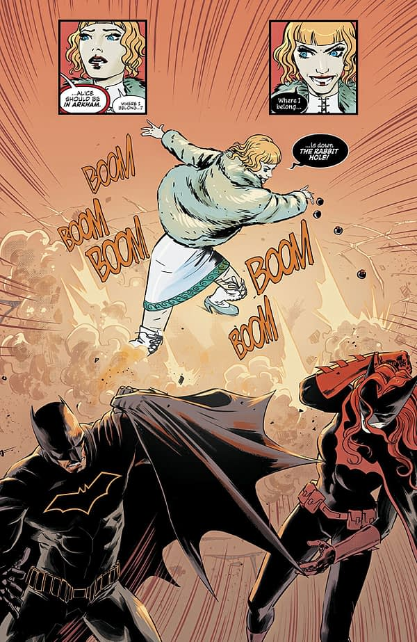 Batwoman #16 art by Fernando Blanco and John Rauch