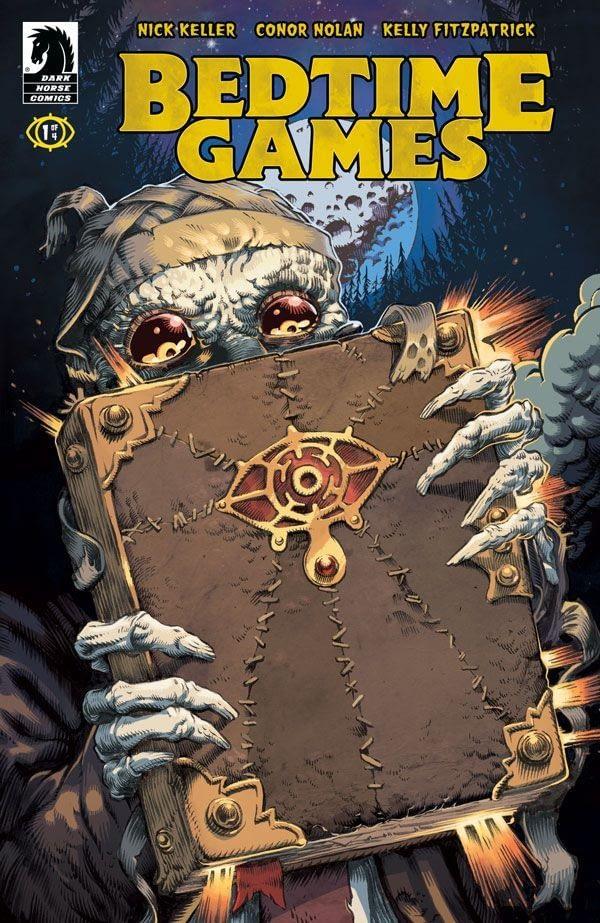 Bedtime Games #1 cover by Conor Nolan