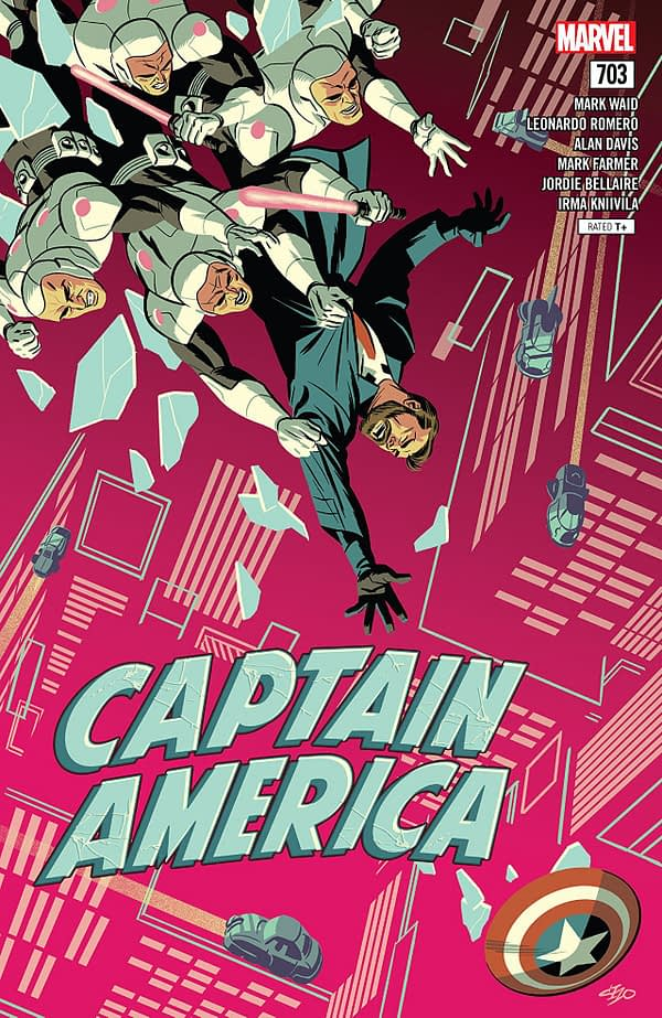 Captain America #703 cover by Michael Cho