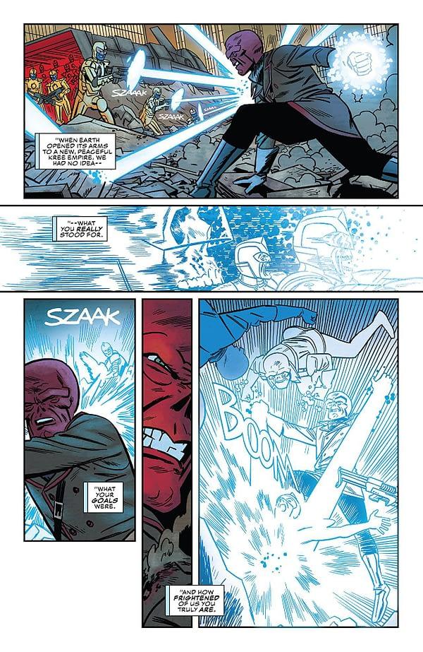 Captain America #704 art by Leonardo Romero and Jordie Bellaire
