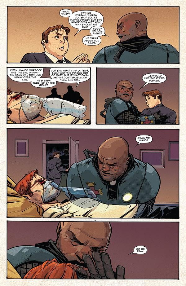 Daredevil #604 art by Mike Henderson and Matt Milla
