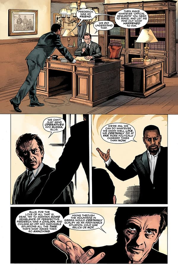 The Dead Hand #3 art by Stephen Mooney and Jordie Bellaire