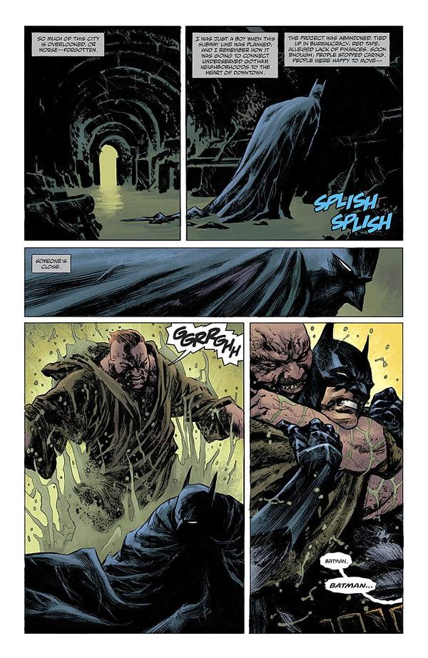 Batman: Detective Comics #982 art by Sebastian Fiumara and Dave Stewart