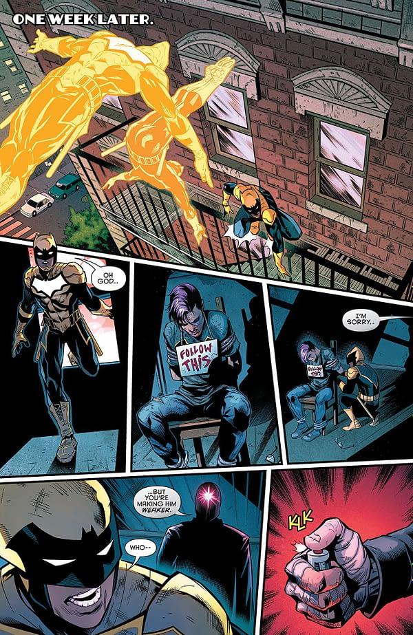 Batman: Detective Comics #983 art by Miguel Mendonca, Diana Egea, and Adriano Lucas