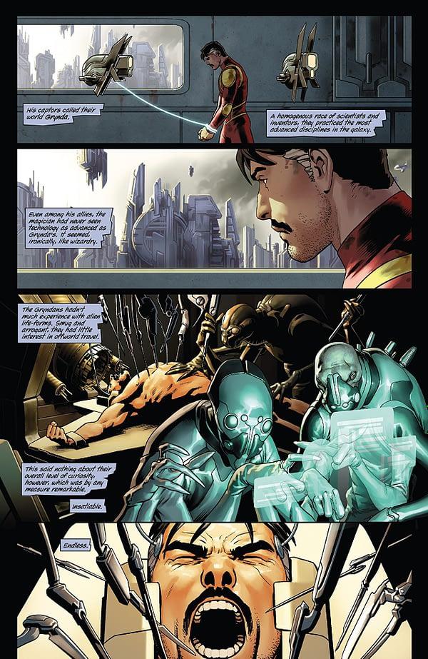 Doctor Strange #2 art by Jesus Saiz