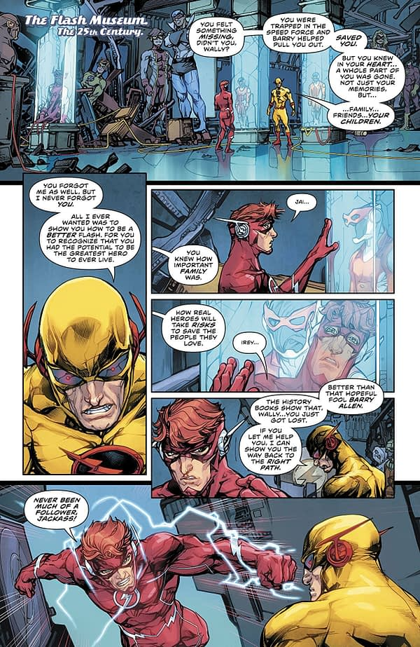 Flash #48 art by Howard Porter and Hi-Fi