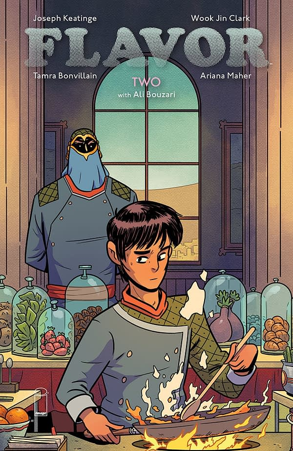 Flavor #2 cover by Wook Jin Clark and Tamra Bonvillain