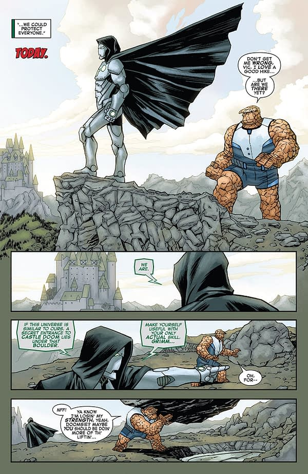 Marvel Two-in-One Annual #1 art by Declan Shalvey and Jordie Bellaire
