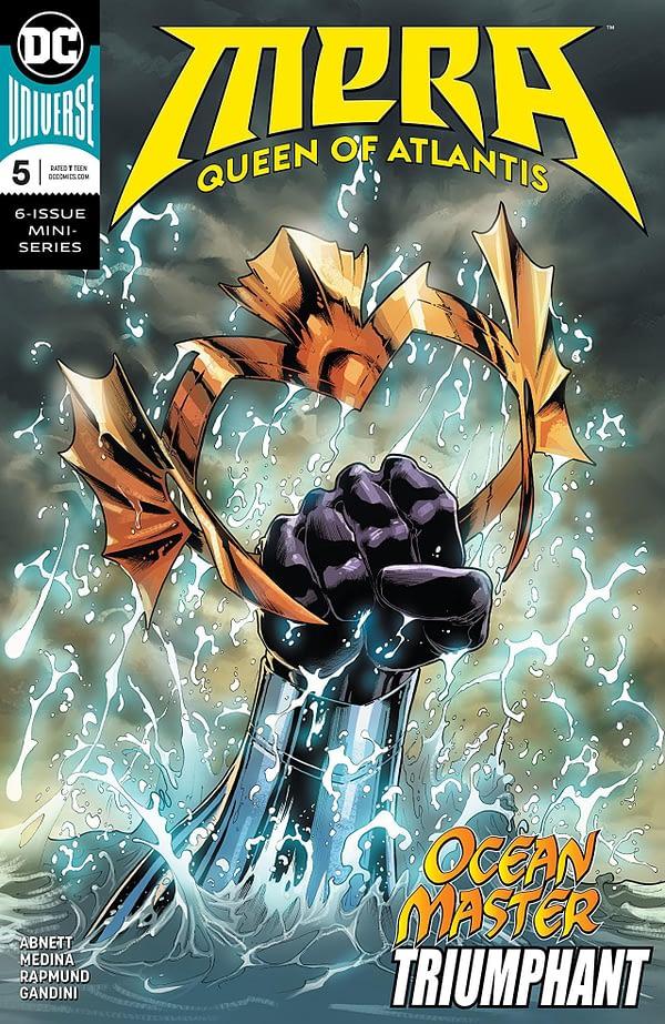 Mera: Queen of Atlantis #5 cover by Nicola Scott and Romulo Fajardo Jr.