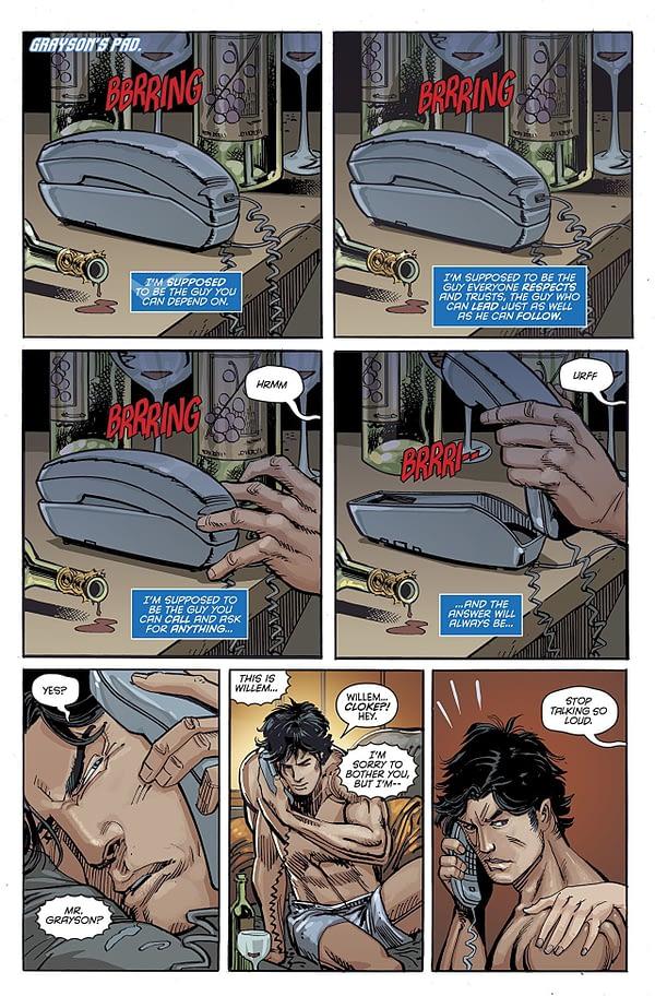 Nightwing #45 art by Chris Mooneyham, Klaus Janson, and Nick Filardi