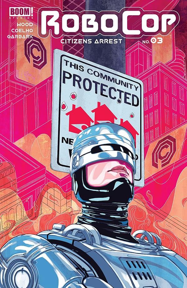 Robocop: Citizen's Arrest #3 cover by Nimit Malavia